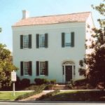 James K. Polk Ancestral Home, Columbia, Tenn., where Polk lived from 1818 to 1824 (James K. Polk Memorial Association)