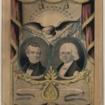 James K. Polk–George M. Dallas campaign poster, by Nathaniel Currier, 1844 (Library of Congress)
