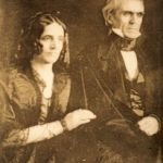 President Polk with wife Sarah Childress Polk, photograph probably by John Plumbe, Jr., c. 1846 (James K. Polk Memorial Association)