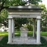 Tomb of James K. and Sarah Childress Polk, on the grounds of the Tennessee State Capitol, Nashville (James K. Polk Memorial Association)