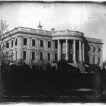 Earliest known photograph of the White House, by John Plumbe, Jr., c. 1846 (Library of Congress)